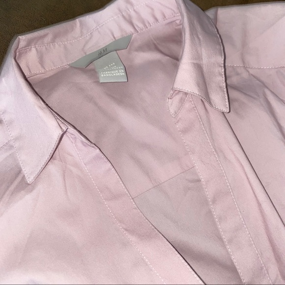 Baby pink button up!  NWOT